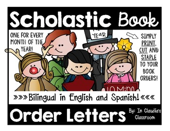Scholastic Book Order Letter to Parents (Bilingual: English and Spanish)