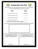 Scholastic Book Order Math Sheet