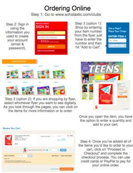 Scholastic Book Order Parent Packet