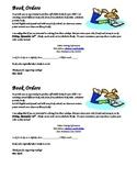Scholastic Book Order Parent Note