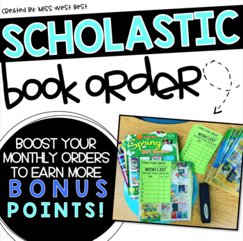 Scholastic Book Order Wish Lists