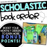 Scholastic Book Order Slips