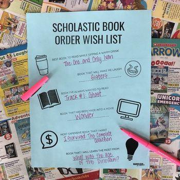 Book wish list teaching resources teachers pay teachers scholastic book order wish list scholastic book order wish list fandeluxe Gallery