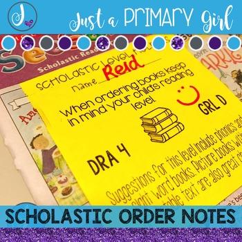 Scholastic Book Orders