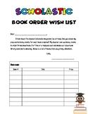 Scholastic Book Wish List