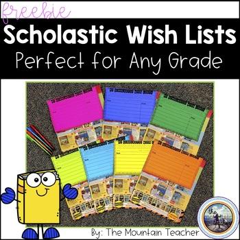 Scholastic Books Wish List