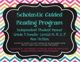 Scholastic Guided Reading Short Reads Nonfiction Menu 3rd Grade Bundle