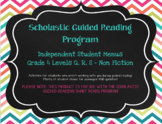 Scholastic Guided Reading Short Reads Nonfiction Menu 4th