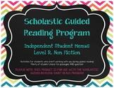 Scholastic Guided Reading Short Reads Nonfiction Menu Level R