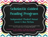Scholastic Guided Reading Short Reads Nonfiction Menu Level S