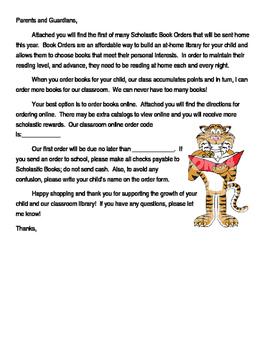 Scholastic Introduction Letter