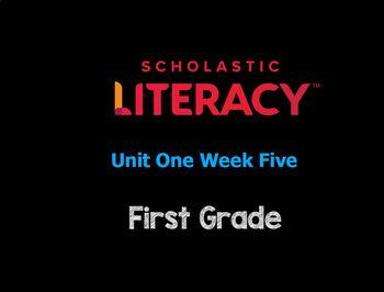 "Scholastic Literacy Unit 1 Week 5 ""My Family & Me"" Flipchart First Grade"