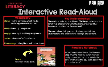 "Scholastic Literacy Unit 2 Week 7 ""Stories With A Moral"" Flipchart First Grade"