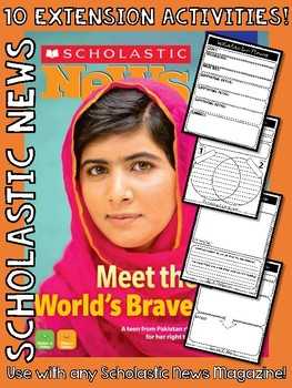 Scholastic News Extension Activities - Teach Text Features & Text Structure