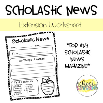 Scholastic News Printable