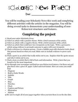 Scholastic News Project