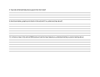 Scholastic News Text Feature Hunt