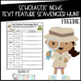 Scholastic News Text Feature Scavenger Hunt {FREEBIE}