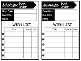 Scholastic Order Wish list