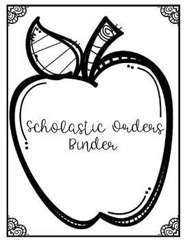 Scholastic Orders Binder