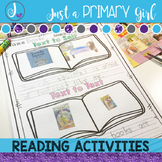 Scholastic Reading Activities- includes Digital Distance Learning Templates