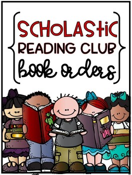Scholastic Reading Club Book Order Organization {EDITABLE}