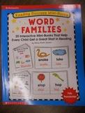 Scholastic Reading Success Mini Books-Word Families