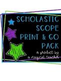 Scholastic Scope Print & Go Pack