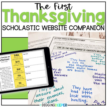 Scholastic: The First Thanksgiving Close Reads