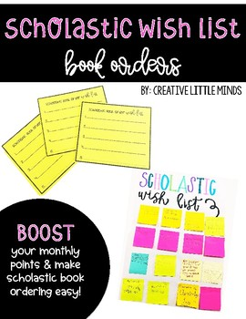Scholastic Wish List Book Orders