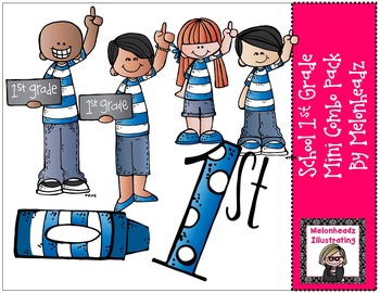 School 1st mini combo pack by Melonheadz