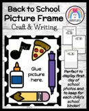 5 Senses Craft and Writing Picture Frame (Back to School)