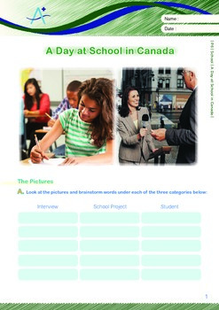 School - A Day at School in Canada - Grade 6
