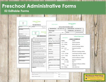 School Administrative Forms