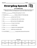 School Age Grammar Bundle-Parts of Speech