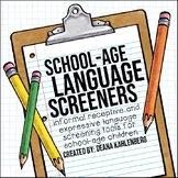 School-Age Language Screeners