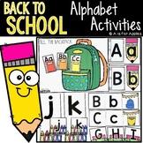 School Alphabet Activities