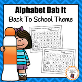 School Alphabet Dab It