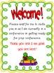 School Animal  Parent Teacher Conference Reminders, Poster