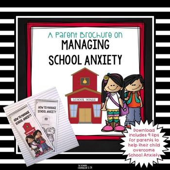 School Anxiety-Parent Brochure