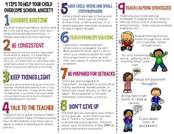 School Anxiety-Parent Brochure