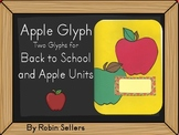 School Apple Glyph - Two Glyph Surveys for Back to School and Apple Units