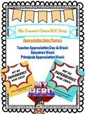 School Appreciation Posters 2018 Super Hero Themed