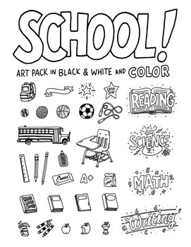 School Art Pack