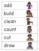 School Verbs BINGO