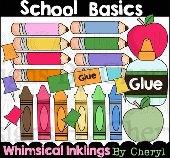 School Basics Clipart Collection