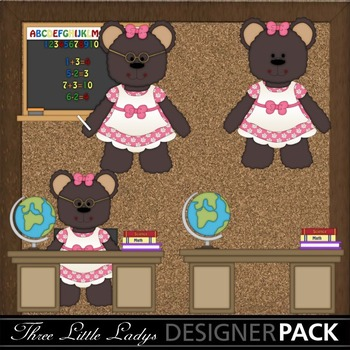 School Bears- Back to school