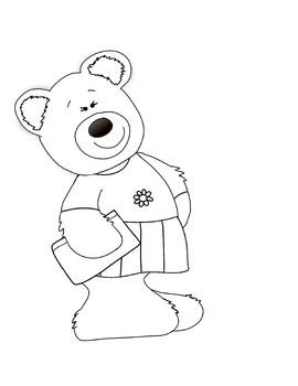 School Bears Clip Art