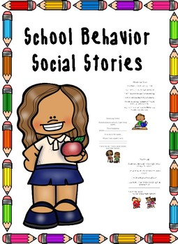 School Behavior Social Stories