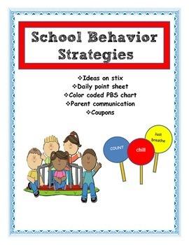 Behavior strategies for the classroom